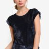 Corduroy Velvet Textured Tunic Top by BoyFromBlighty for Female