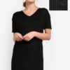 Shimmer Textured Knit Dress by BoyFromBlighty for Female