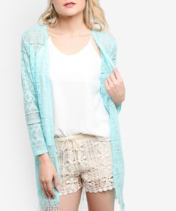 Summer Lace Tassle Cardigan by BoyFromBlighty for Female