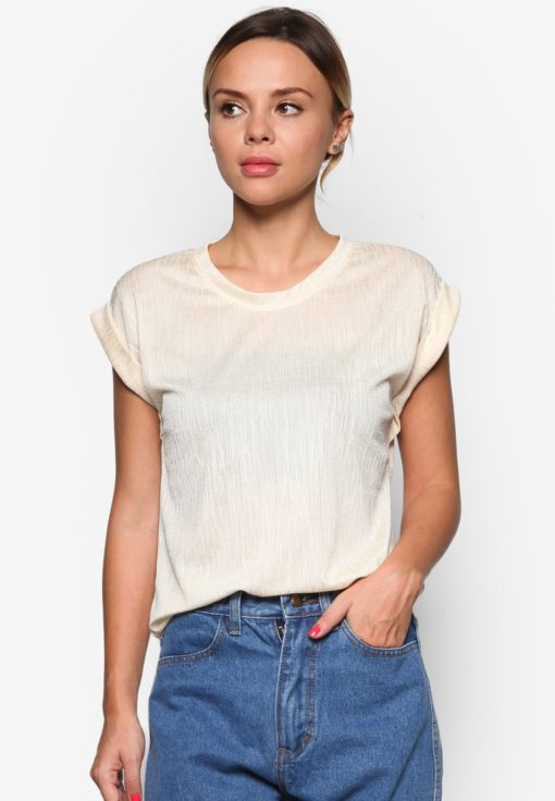 Crimped Effect Top by BoyFromBlighty for Female