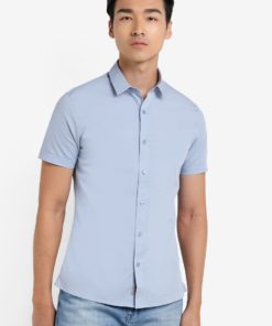 Wings Short Sleeve Shirt by Calvin Klein for Male