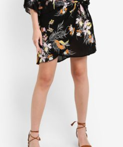 Woven Mini Wrap Skirt by Cotton On for Female