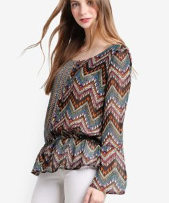 Lena Long Sleeve Blouse by Desigual for Female