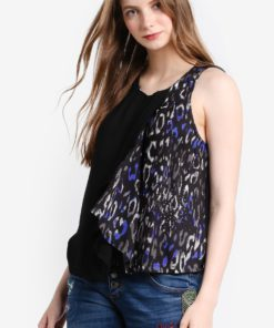 Lina Sleeveless Blouse by Desigual for Female