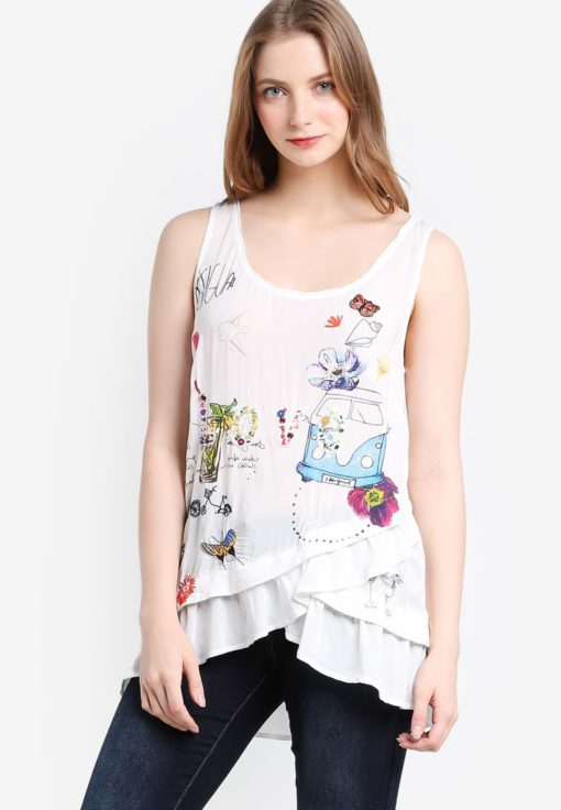 Mara Tank Top by Desigual for Female