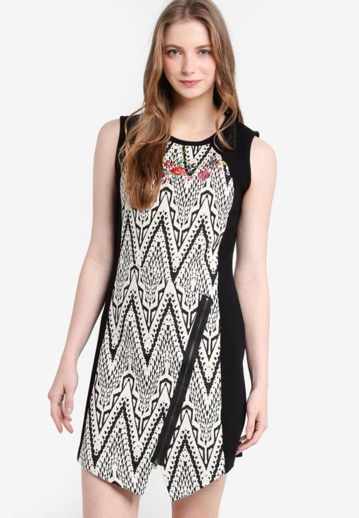 Oregon Sleeveless Dress by Desigual for Female