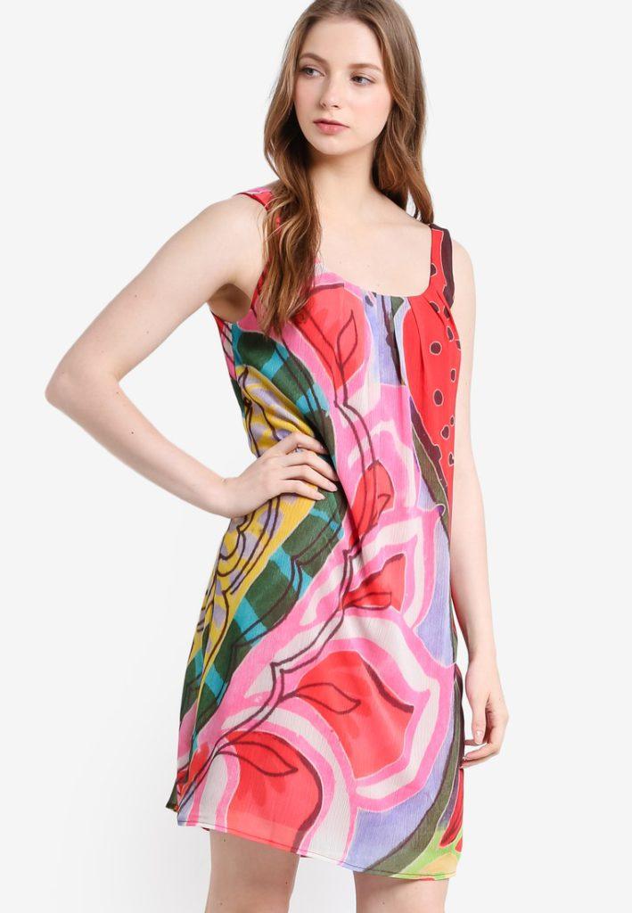 Fresita Sleeveless Dress by Desigual for Female