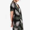 Palm Print Choker Shift Dress by Dorothy Perkins for Female