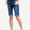 Mid Wash Knee Shorts by Dorothy Perkins for Female