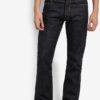Selvedge Denim Modern Straight Jeans by Electro Denim Lab for Male