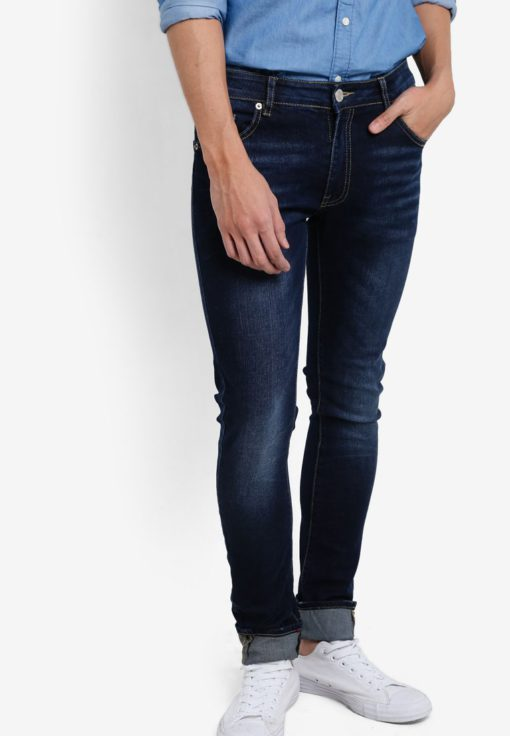 Indie Skinny Jeans by Electro Denim Lab for Male