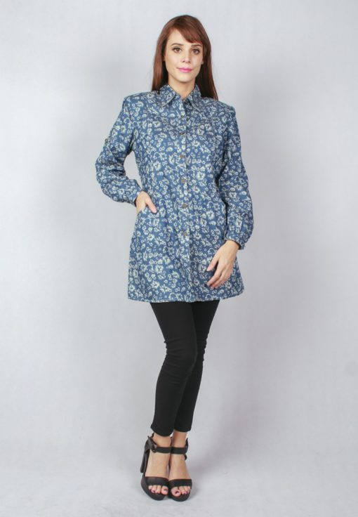 Es Floral Printing Top by ESPRIMA for Female