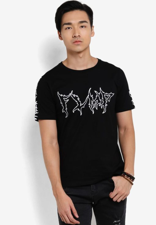 Flaming FLMP T-Shirt by Flesh Imp for Male