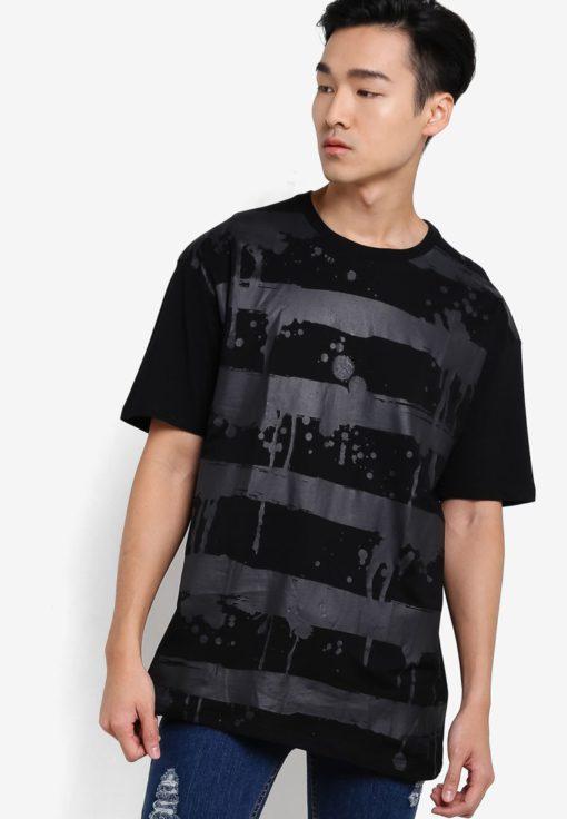 Oversized Sniper T-shirt by Flesh Imp for Male