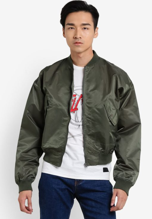 All Zipp Bomber Jacket by Flesh Imp for Male