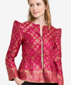 Mars 2.0 Songket Blazer by FLEURÉ for Female