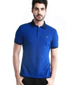 Men's Special Undercollar Slim Fit Polo Shirt by Fred Perry Green Label for Male