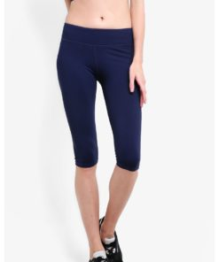 Mid-Waist Capris by Funfit for Female