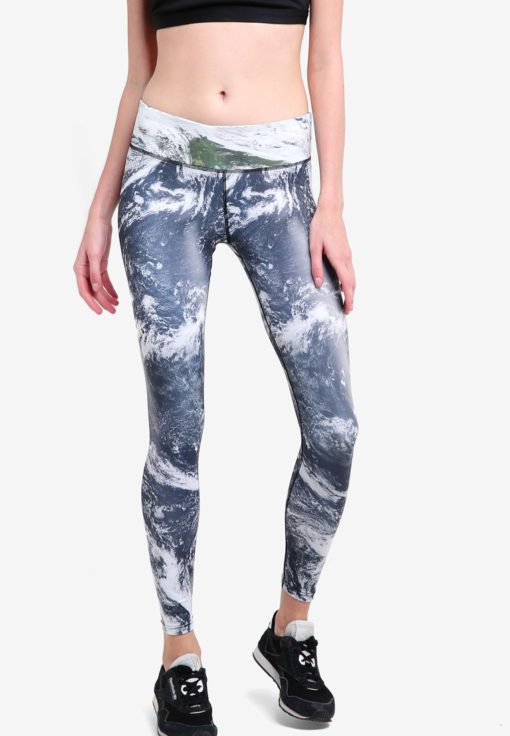 Movement Leggings In Cosmos Print by Funfit for Female