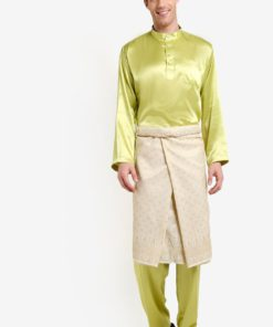 Traditional Baju Melayu by Gene Martino for Male
