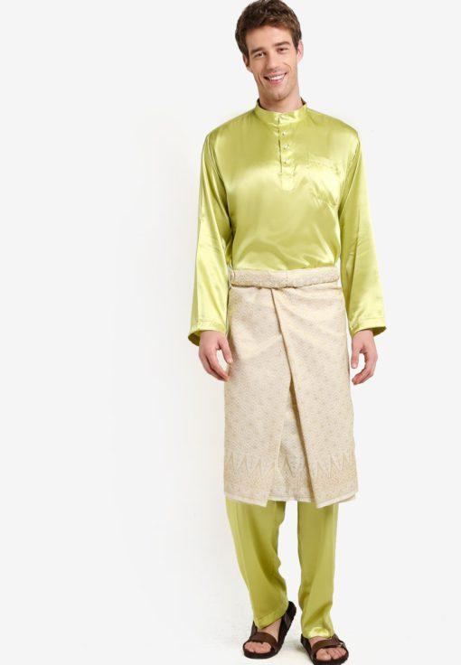 Traditional Baju Melayu by Gene Martino for Male