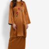 Baju Kurung with Floral Applique by Gene Martino for Female