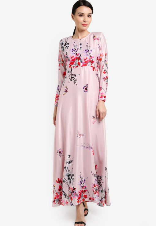 Hana Sakura Dress by JubahSouq for Female