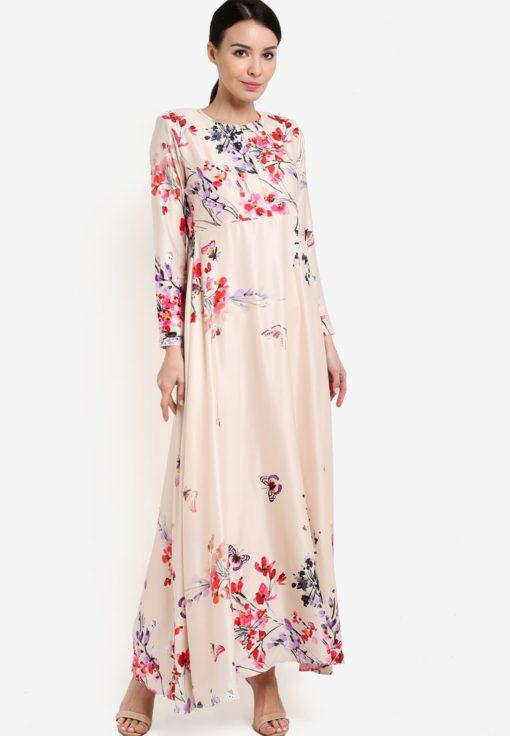 Hana Sakura Dress by JubahSouq for Female