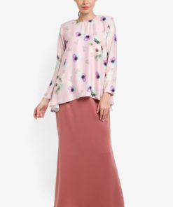 Nuraa Azalea Peplum Kurung Set by JubahSouq for Female