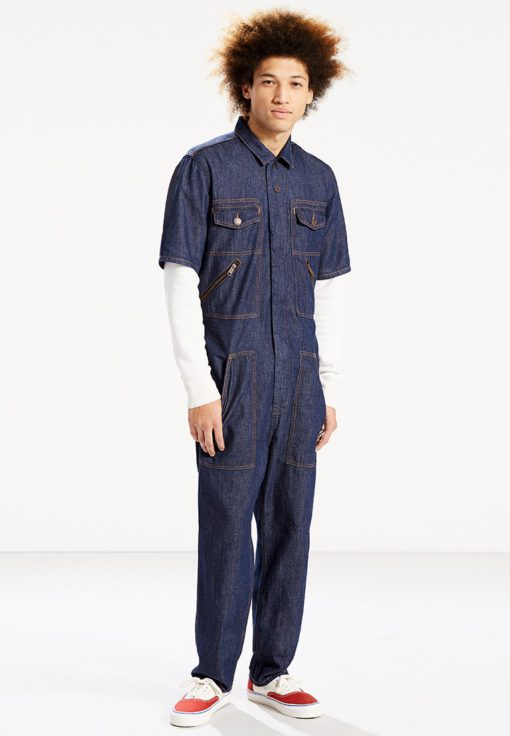 Levi's Orange Tab Coverall by Levi's for Male