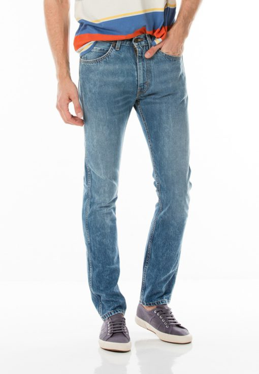Levi's Orange Tab 505C Slim Fit Jeans by Levi's for Male