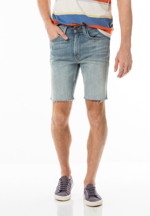Levi's Orange Tab 505C Slim Fit Shorts by Levi's for Male