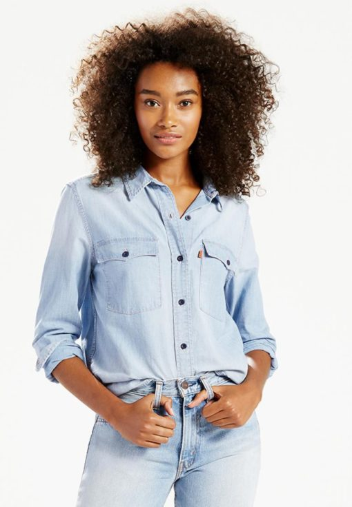 Levi's Orange Tab 70's Western Shirt by Levi's for Female