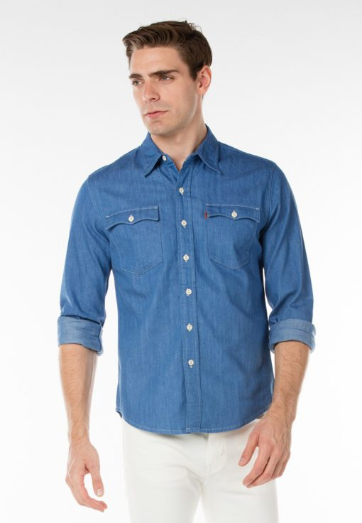 Levi's Orange Tab Shirt by Levi's for Male