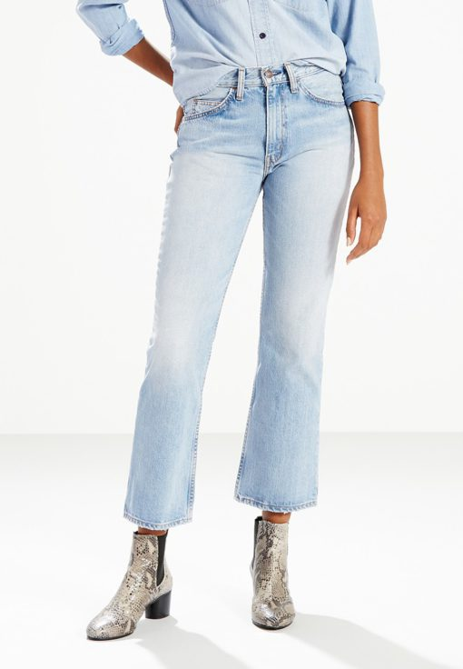 Levi's Orange Tab 517 Cropped Bootcut Jeans by Levi's for Female