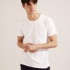 Anti Mosquito。320g Cotton Crew Neck T-Shirt- 03748-White by Life8 for Male