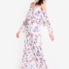 Floral Chiffon Dress by Mango for Female