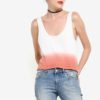 Tie-Dye Effect Tank Top by Mango for Female