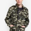 Printed Cotton Jacket by MANGO Man for Male