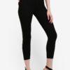 Petite Steffi Black Jeans by Miss Selfridge for Female