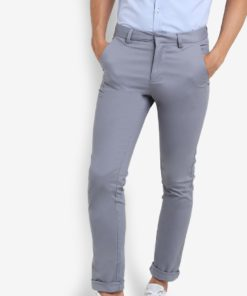 Skinny Chino Trousers by New Look for Male