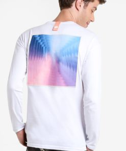 Horizon Long Sleeve Tee by Pestle & Mortar for Male