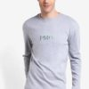 Straits Long Sleeve Tee by Pestle & Mortar for Male