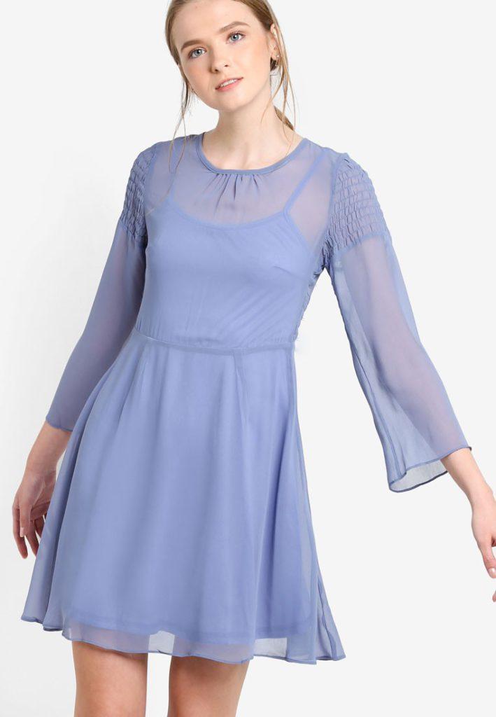Breezy Chiffon Sundress by Pink Evil's Fashion Supermarket for Female