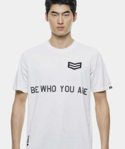 Oversize T-Shirt Badge with Slogan Design by Private Stitch for Male