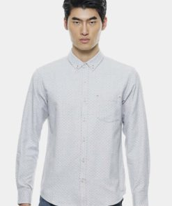 Smart Shirts In Multi Polka Dot by Private Stitch for Male