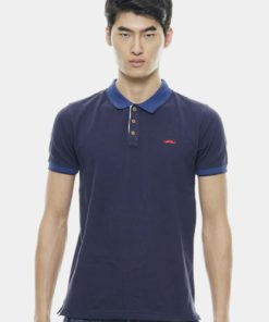 Signature Embroidered Moustache Polo by Private Stitch for Male