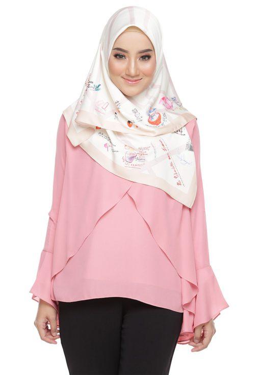 Rania Adeeba bLouse Aaira Pink by Rania Adeeba for Female