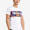F Archive Stripe Print Tee by Reebok for Male