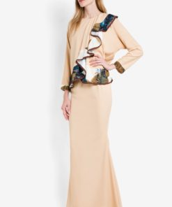 Lily Ruffle Kurung by Sandra for Female